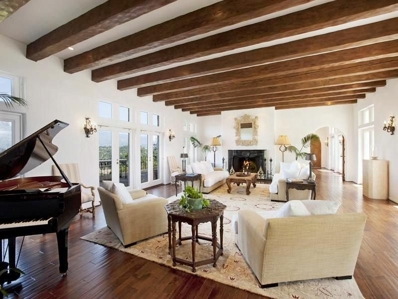 10.Consider Exposed Beams By Simphome.com