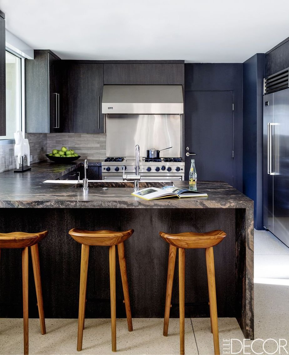4.Use Clean Lined Cabinets By Simphome.com