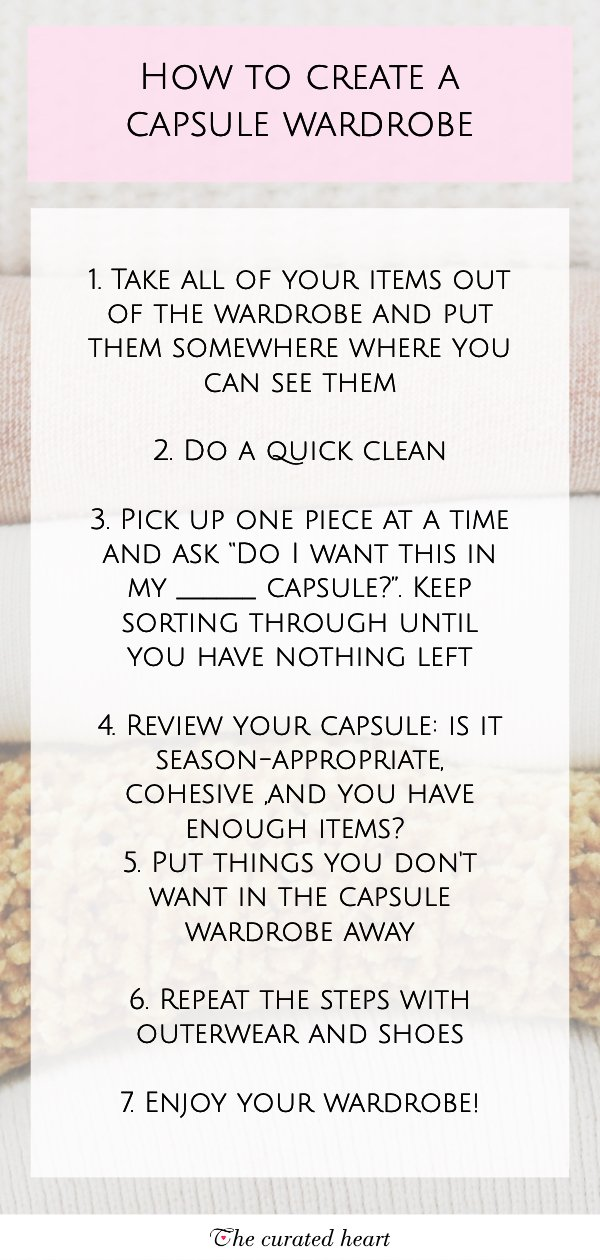 6. Consider CAPSULE WARDROBE System HOW To USE IT AND HOW YOU CAN CREATE ONE TOO by simphome.com