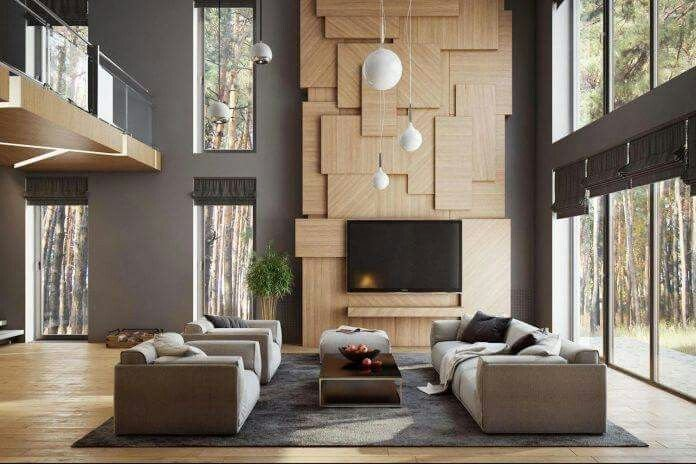 6.Install a Feature Wall By Simphome.com