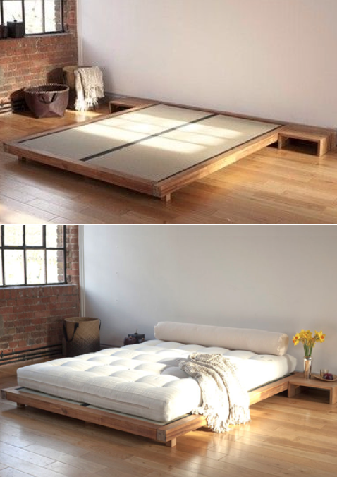 7.Opt for Simple Bed Frame By Simphome.com