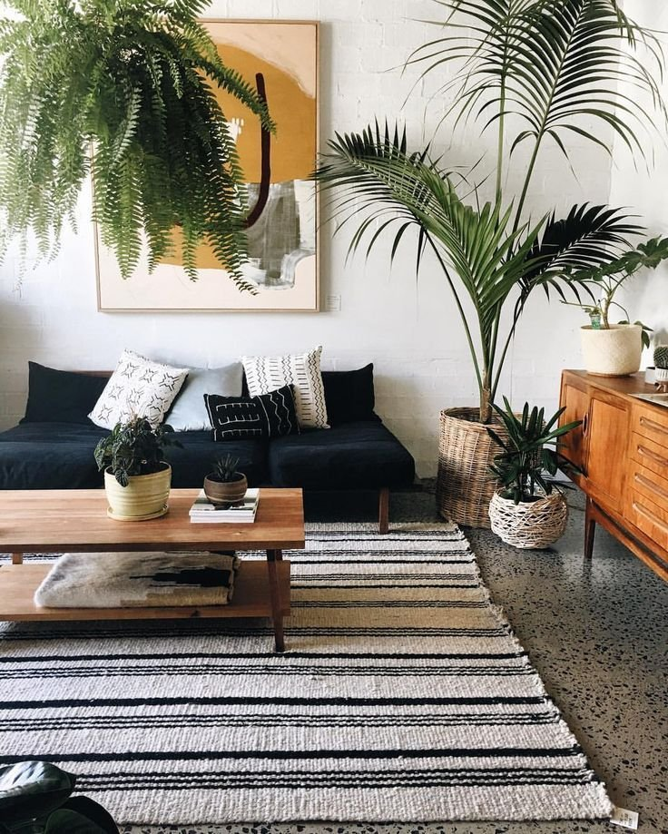 8.Add Texture and Pattern of plants Wisely By Simphome.com pinterest com
