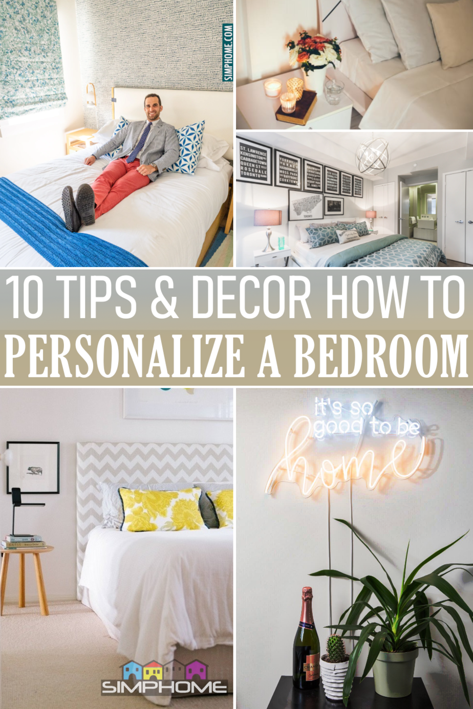 10 Ideas how to personalize bedroom via Simphome.comFeatured