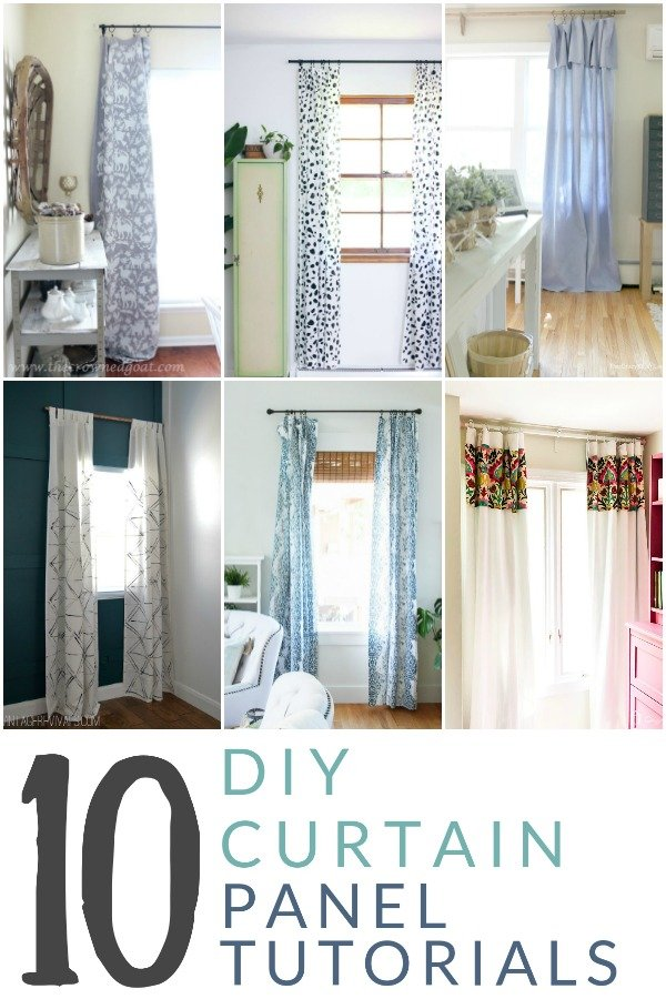 12. Copy one of these 10 Tricks No Sew DIY Curtain Panels by simphome.com