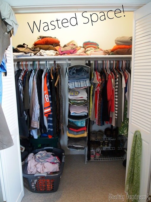 2. Optimized Wasted Space of your closet by simphome.com