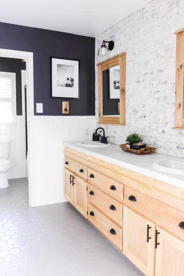 6. 1000 DIY bathroom makeover that doesnt look cheap by simphome.com