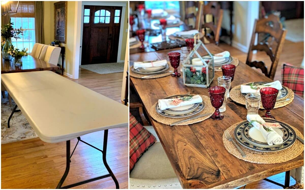 6. Folding Dining Table by simphome.com