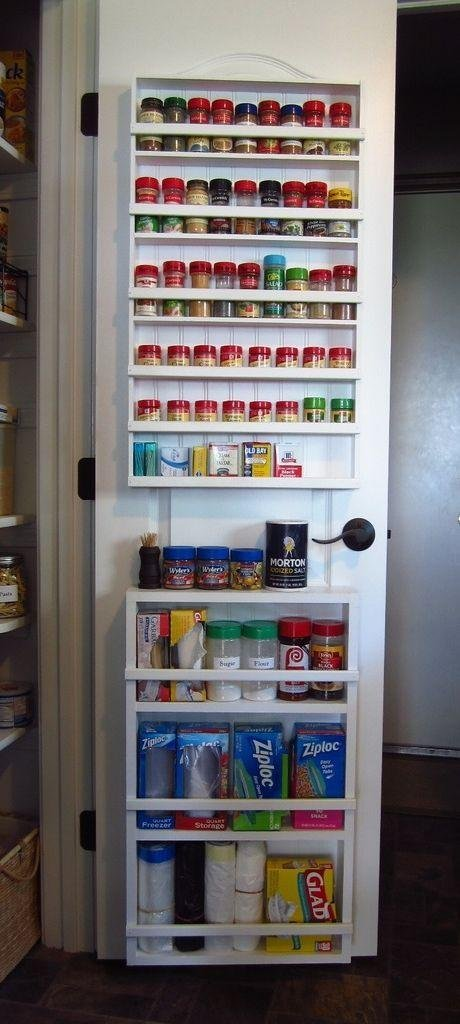 8. Get your spice rack more accessible with this pantry spice rack hack by simphome.com