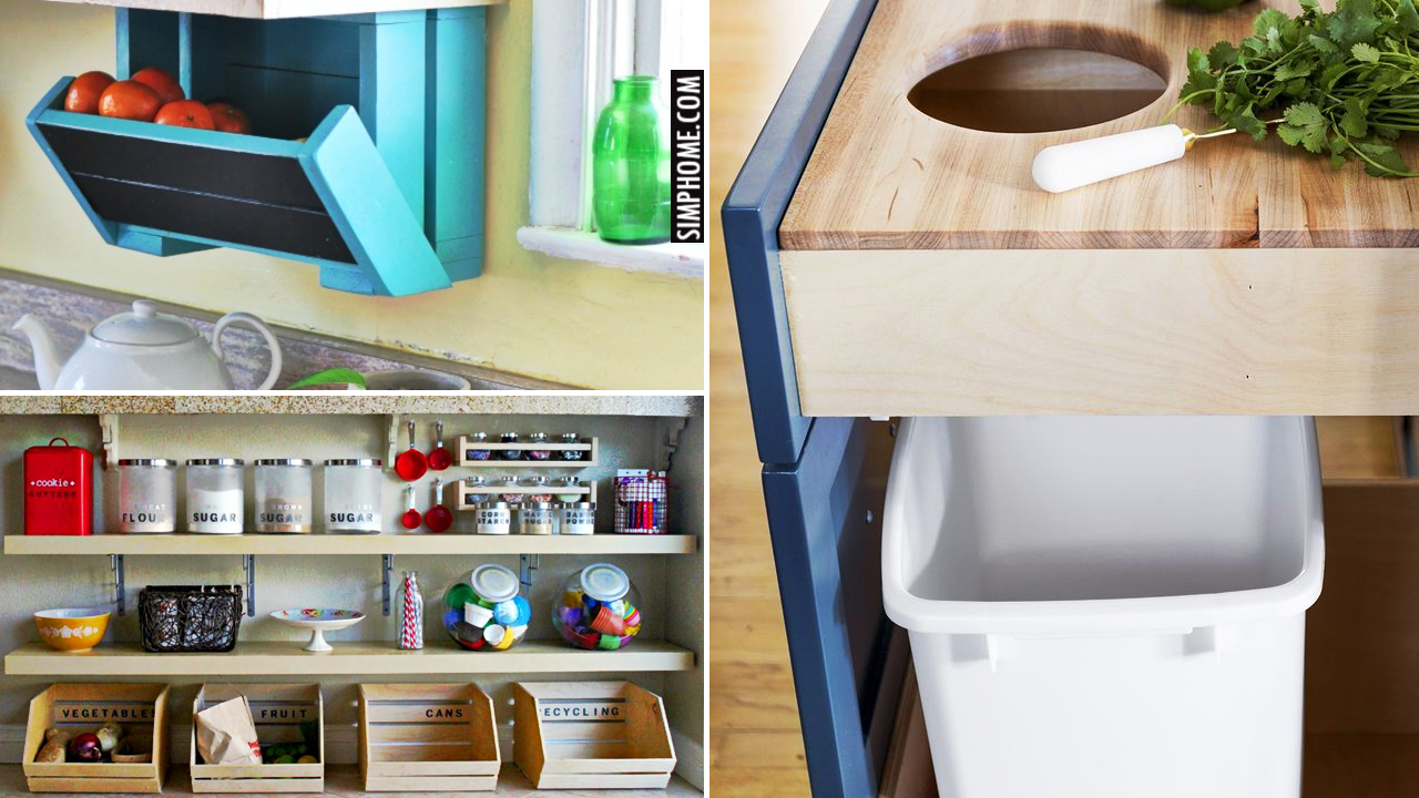 10 tricks to GET NEW storage out of a small kitchen from Simphome.comVideo thumbnail