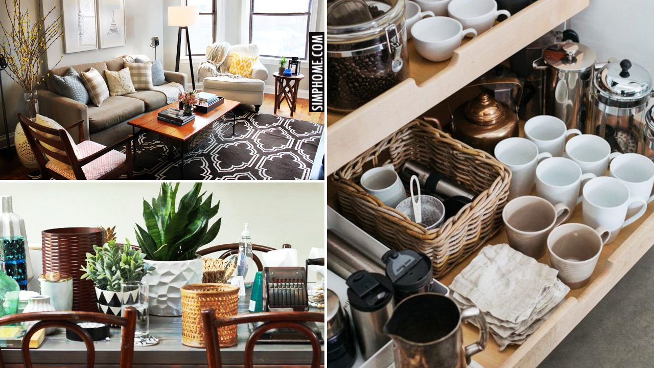 12 Dining Room Decorating and Organization Ideas via Simphome.comThumb