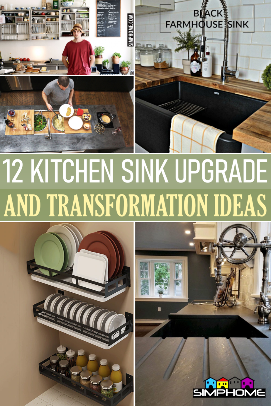 12 Kitchen Sink Transformation and Organizations via Simphome.comFeatured