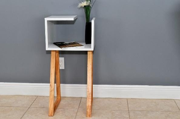 3. Modern Side Table by simphome.com