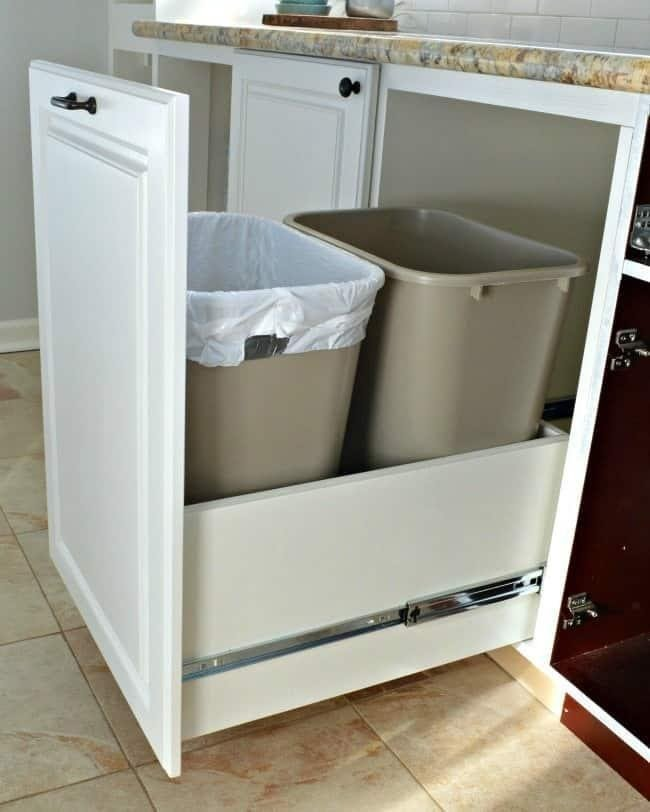 3. Pull Out Trash Bin by simphome.com