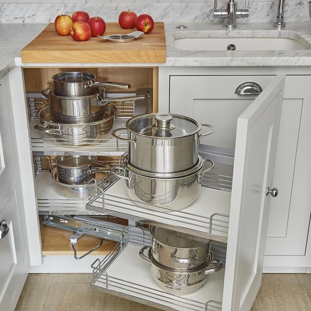 8. Clever Kitchen Storage by simphome.com