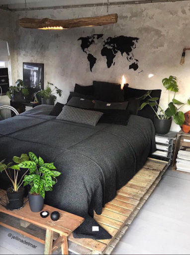 3. A Bedroom for Nature Lover by simphome.com