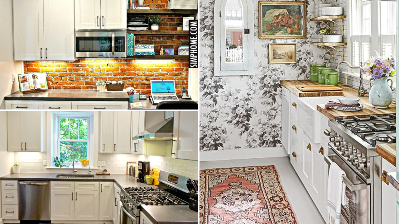 10 Frugal Kitchen Remodels That Can Save BIG via Simphome.comThumbnail