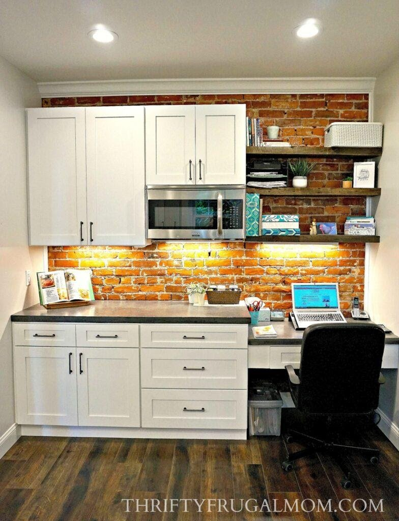 4. Kitchen and Home Office Combo by simphome.com