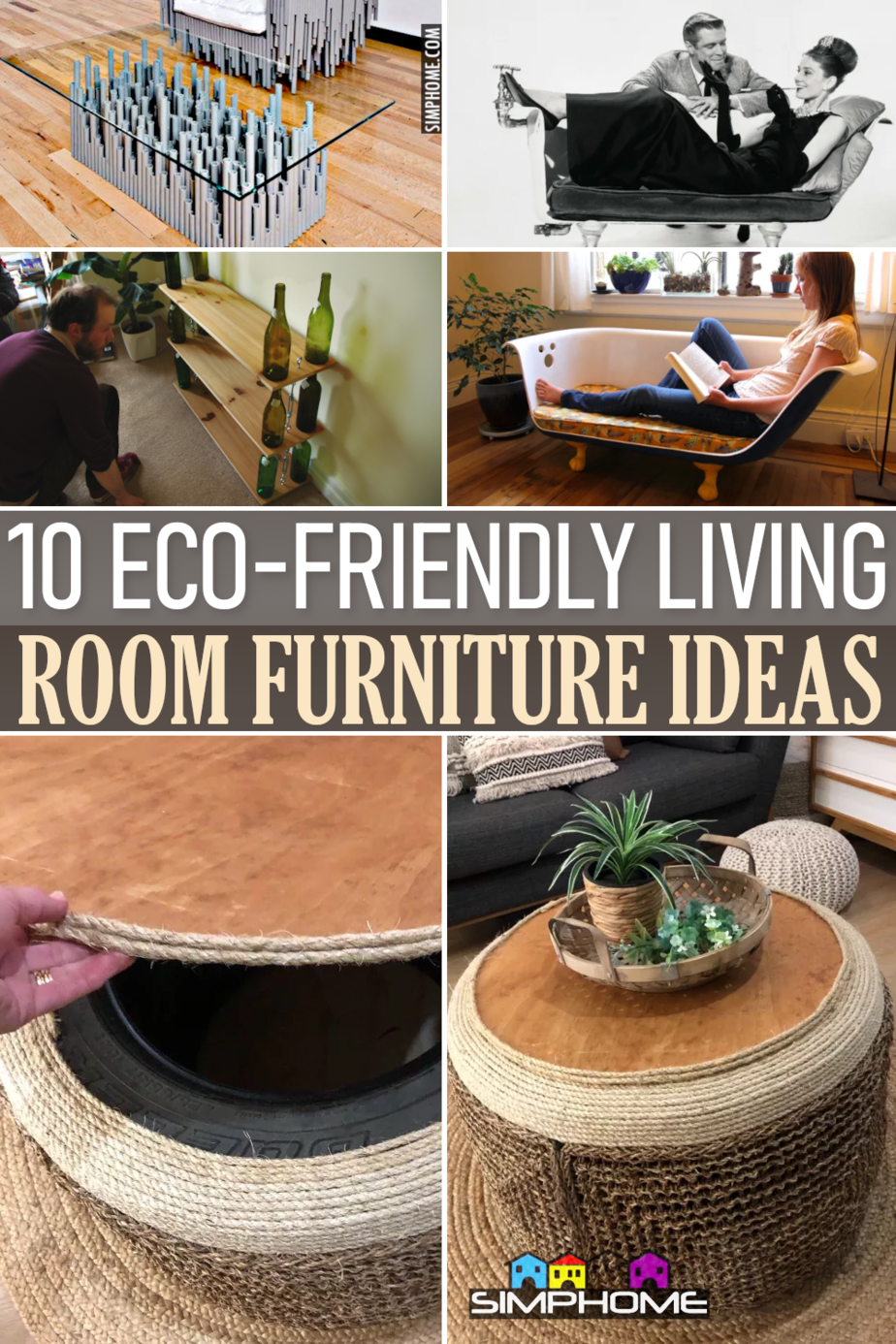 10 Furniture Ideas for Living Room via Simphome.comFeatured