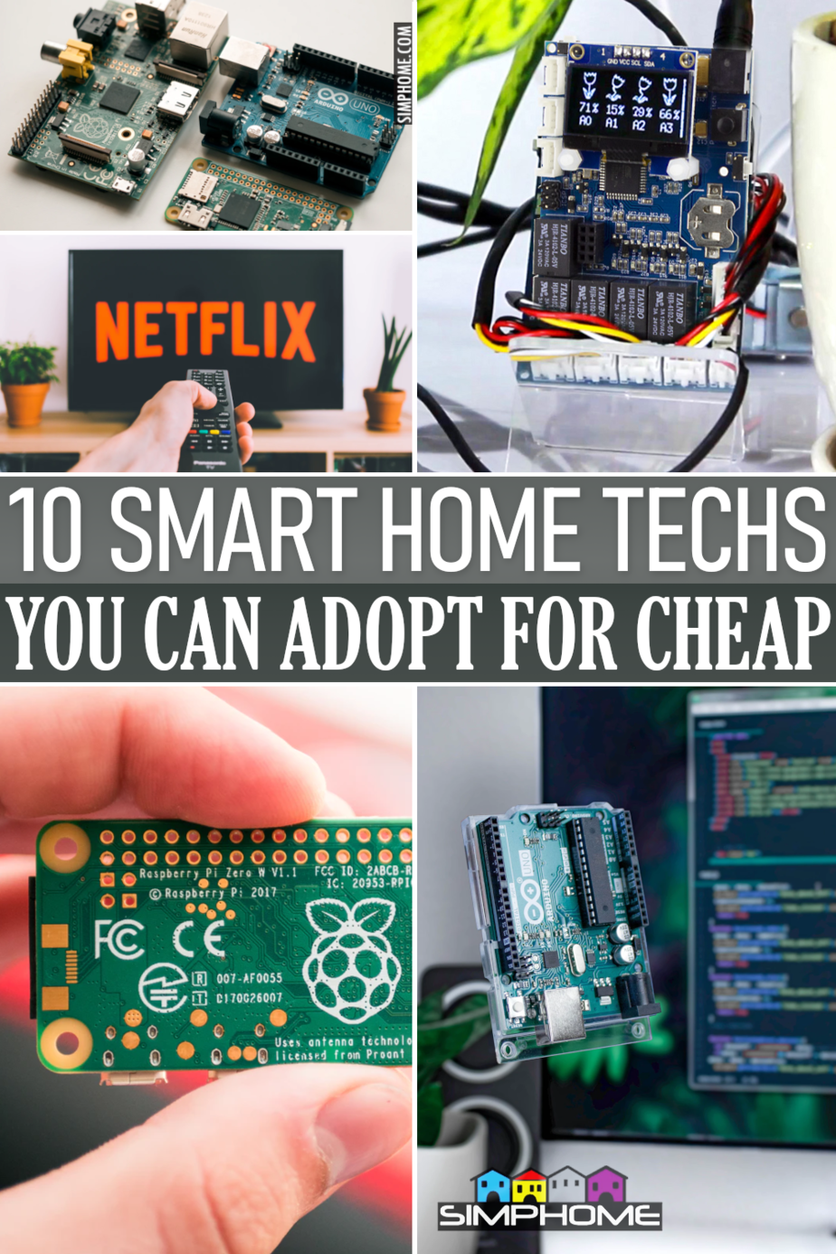 10 Smart Home Technologies You can Adopt for Cheap via Simphome.comFeatured