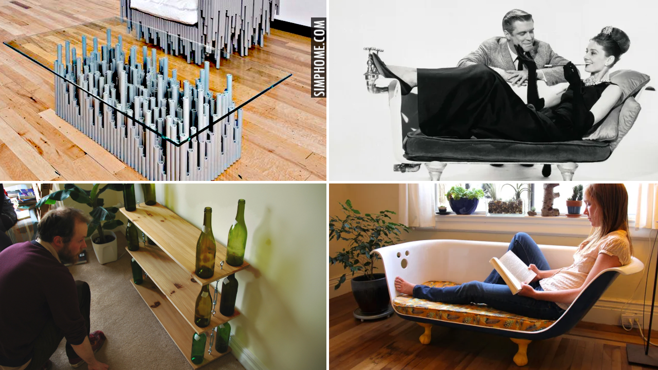 10 Sustainable Furniture Ideas for Living Room via Simphome.comThumbnail