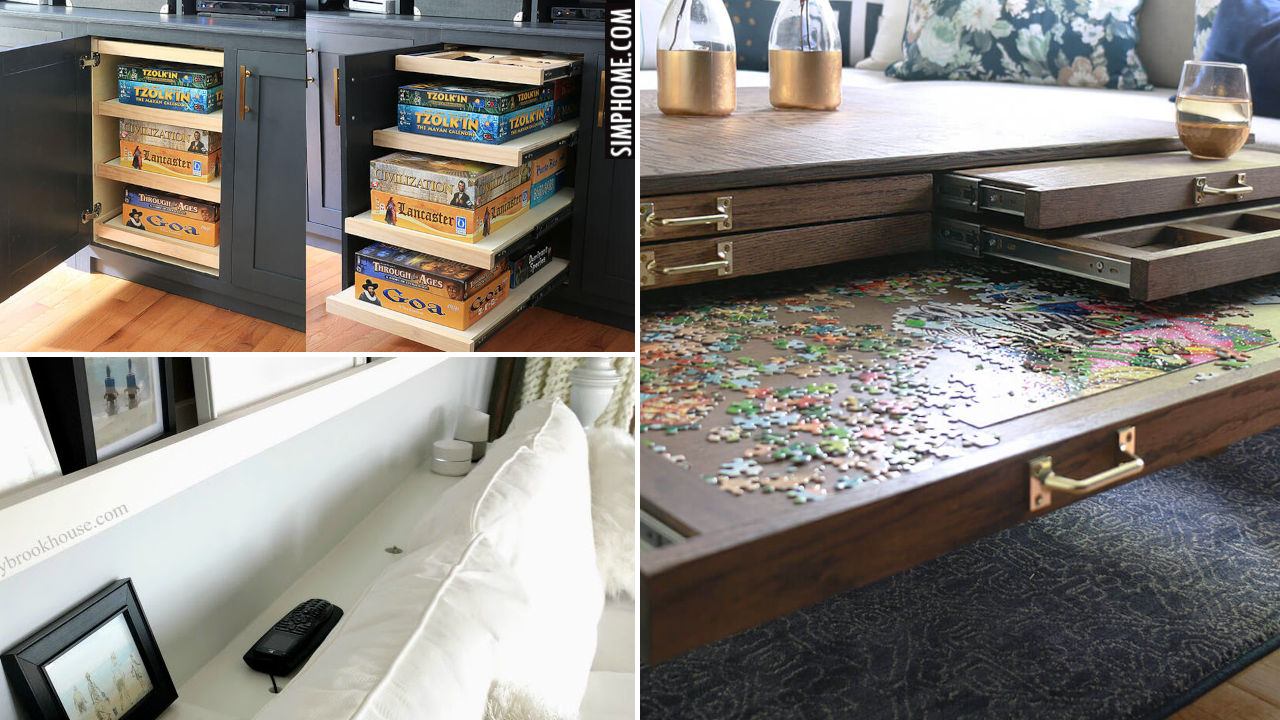 12 storage cabinet DIY for small bedroom and living room via Simphome.comthumbnail