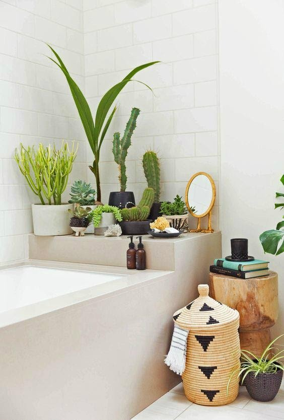 1. Freshen Up with Plants by simphome.com