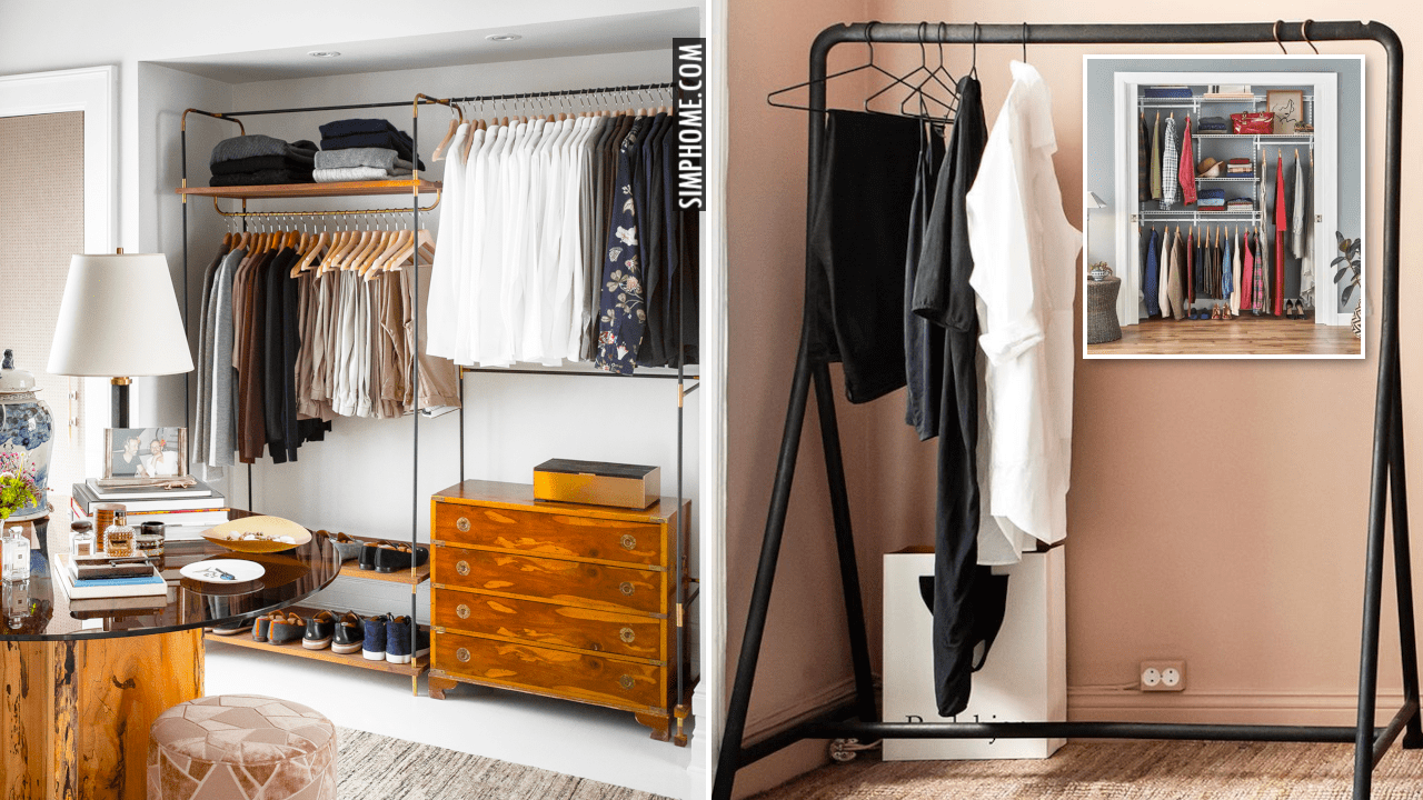 10 Ideas How to Max Your Clothes Storage with ClosetMaids via Simphome.comThumbnail