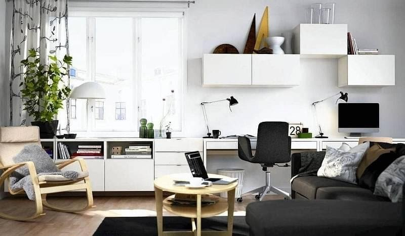 4. Affordable Home Office by simphome.com