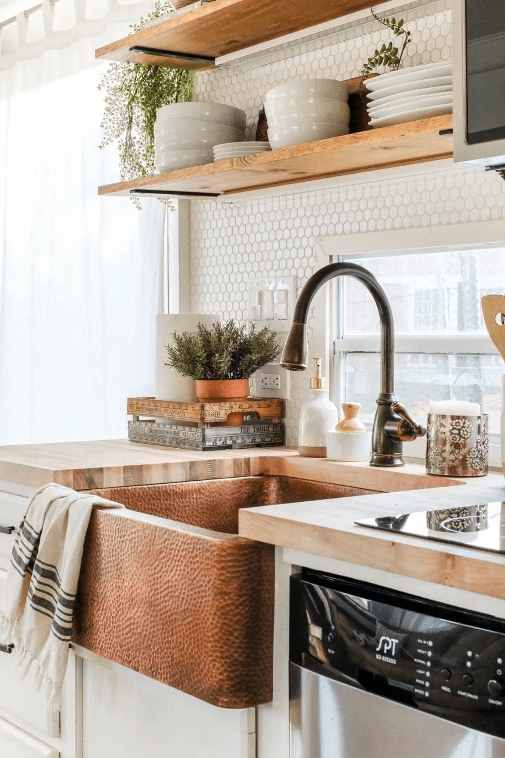 2. Another RV Kitchen Remodel you should try via Simphome.com