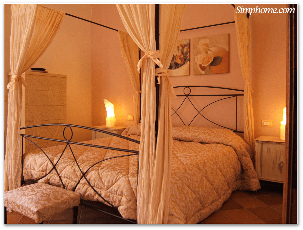 3. Carve out a Romantic Ambiance with Canopy Simphome