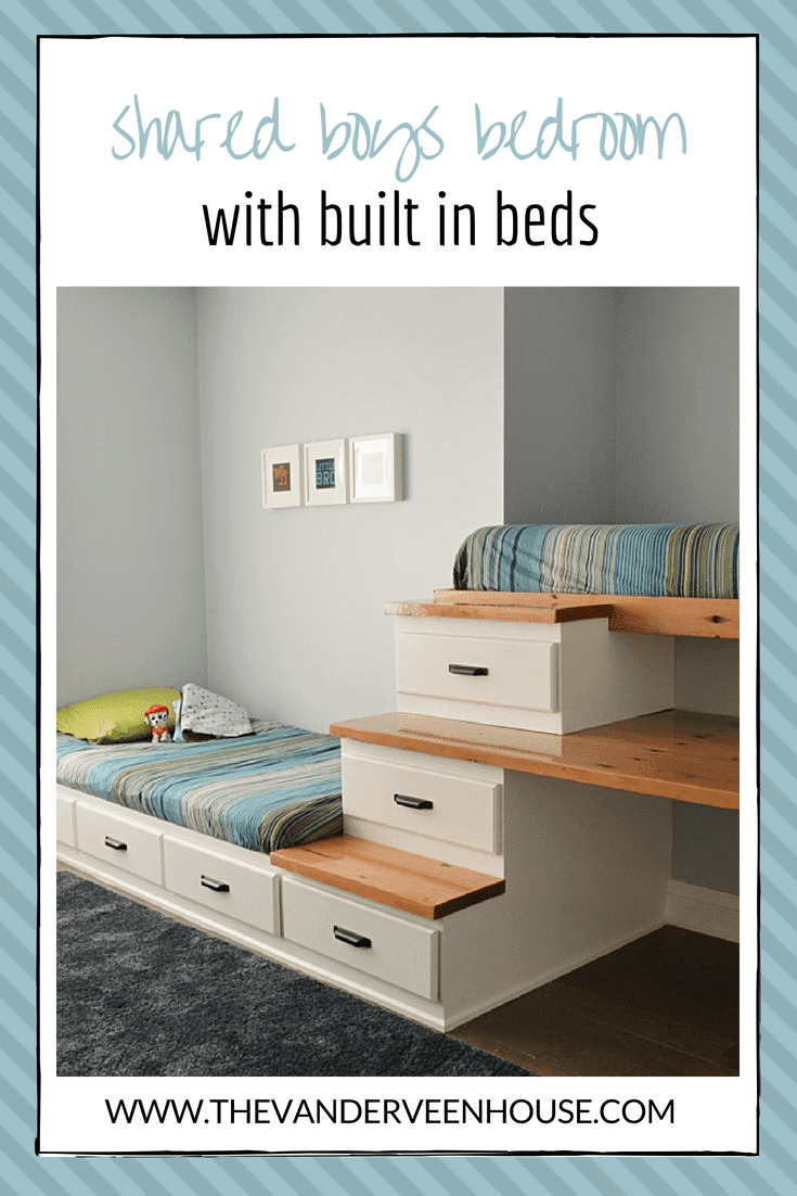 9. Shared Boys Bedroom by simphome.com .