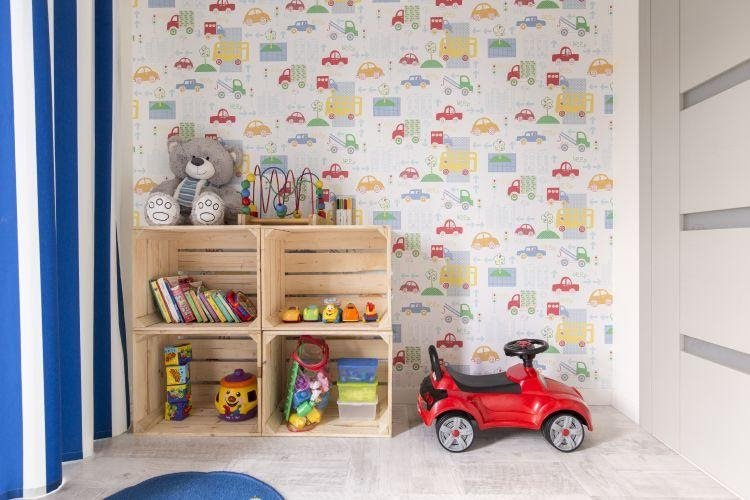 1. Opt for Removable Wallpaper by simphome.com
