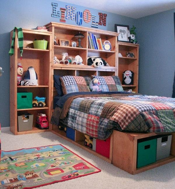 10. Try a Bed Hutch by simphome.com