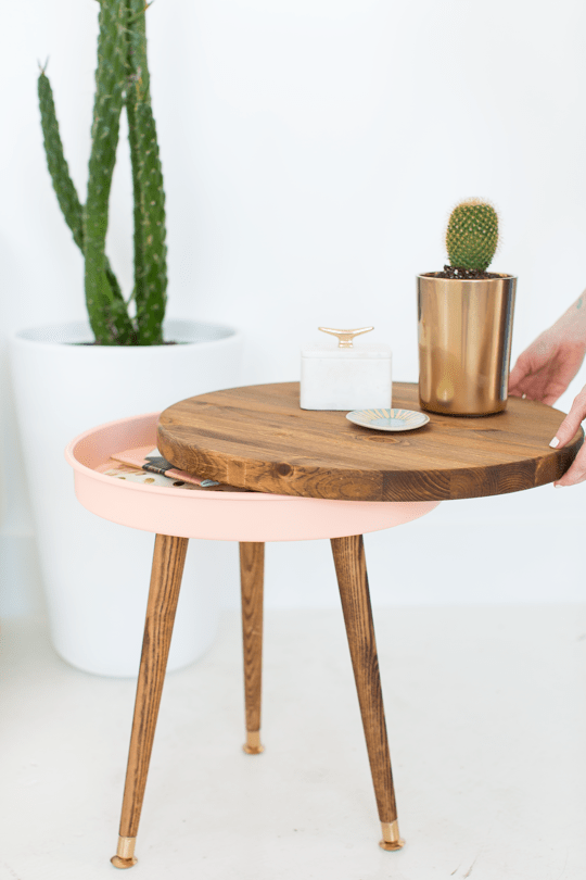 3. Mid Century Side Table by simphome.com