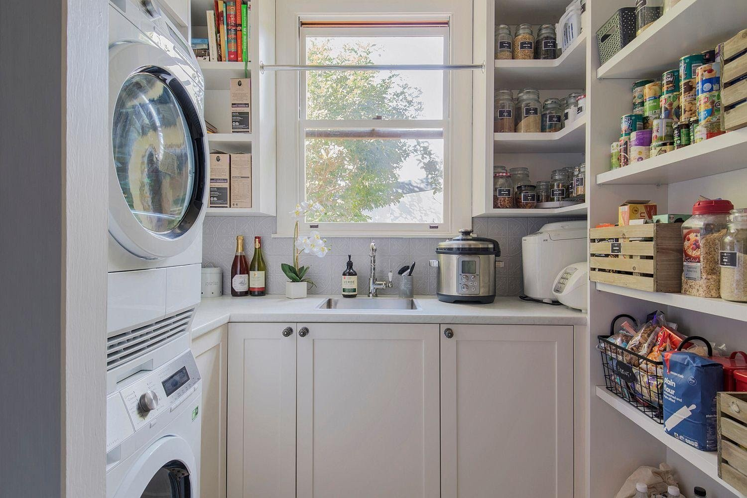 3. The Laundry Room and Pantry Combo by simphome.com