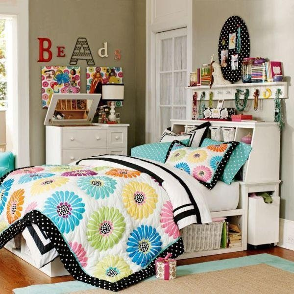 6. Double Your Headboard as Storage by simphome.com