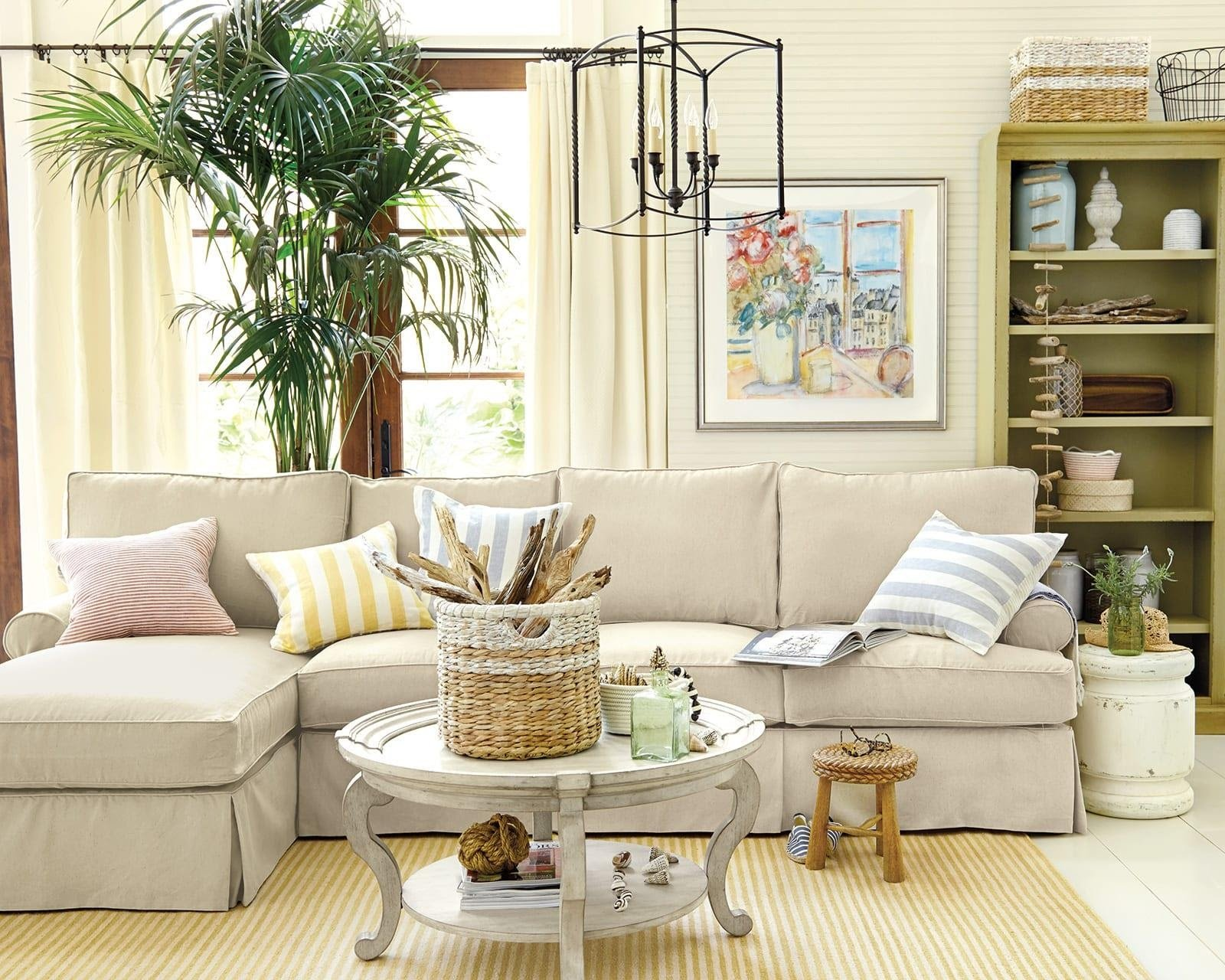 7. Sectional Sofas with Round Coffee Tables by simphome.com