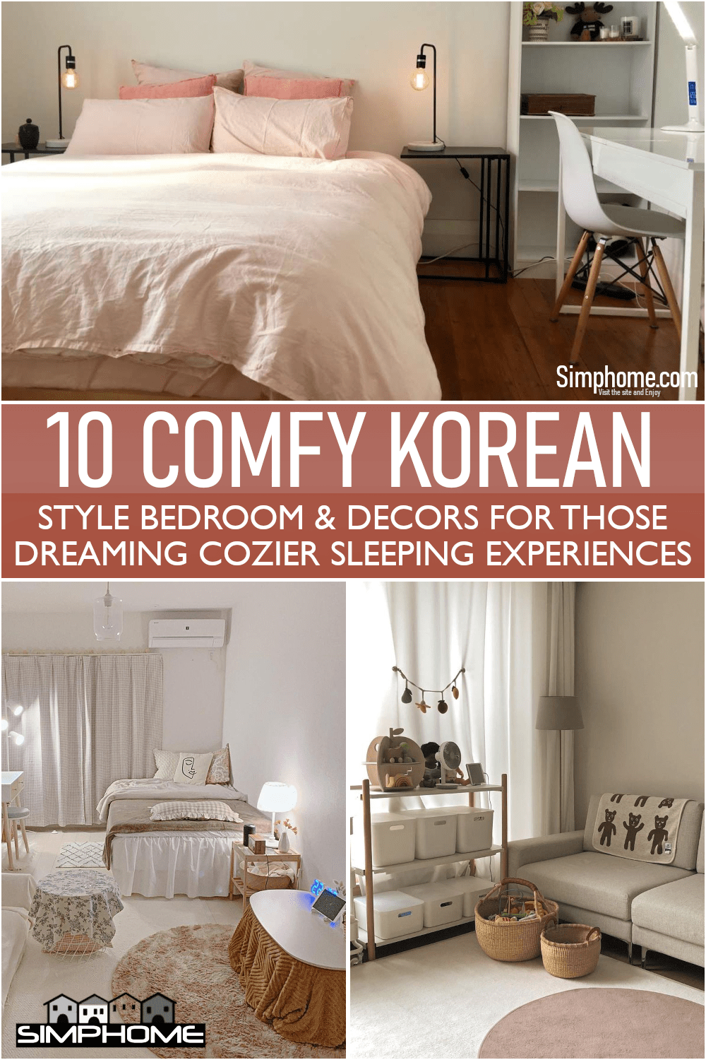 This is awesome 10 Comfortable Korean Style Bedroom