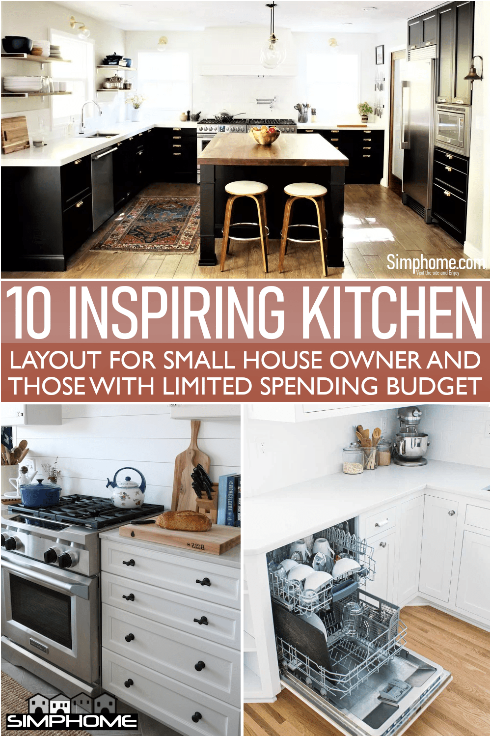 This is ready to copy 10 Kitchen Layouts for Small House Owners