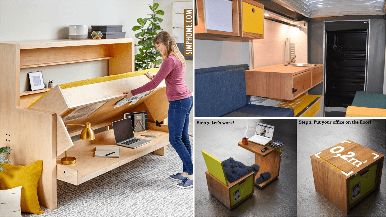 Take this 12 Folding Desk and Space Saving Ideas right here, right now