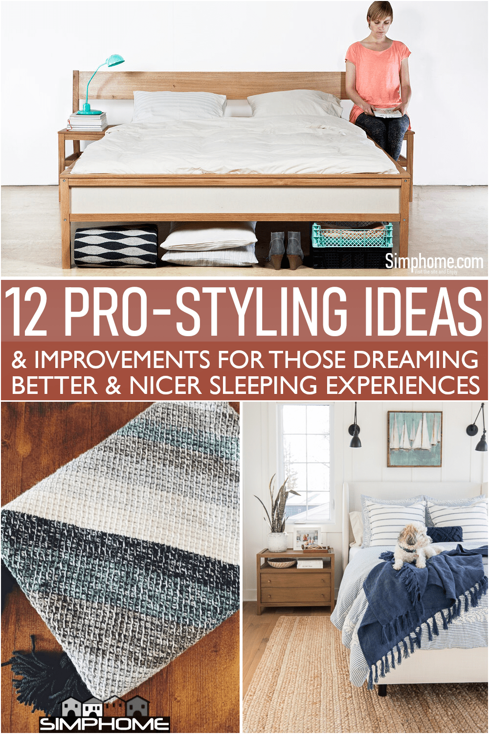 It is 12 Ideas to Style Your Bed Like Pro