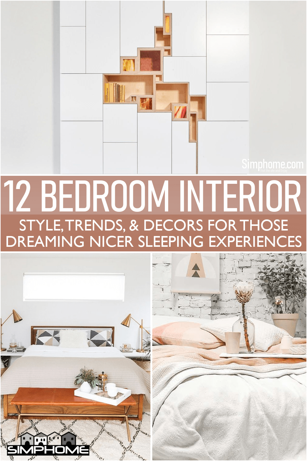 This is sweet and awesome 12 Bedroom Interior Trends for 2021