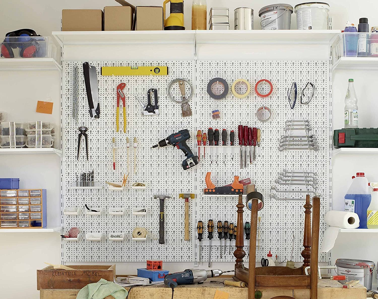 This is The pegboard