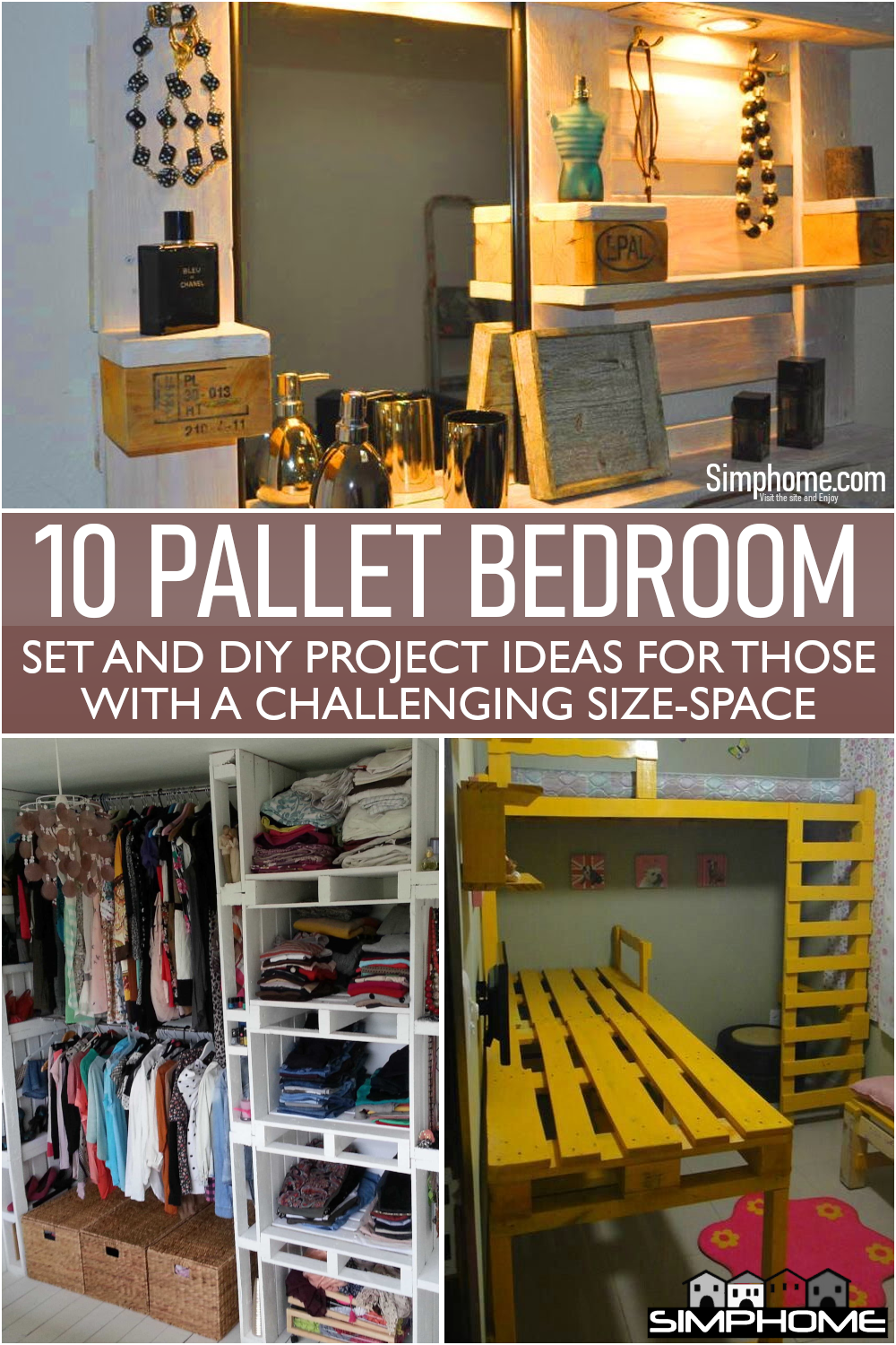Learn more about 10 Pallet Bedroom Sets and DIY Project Ideas here