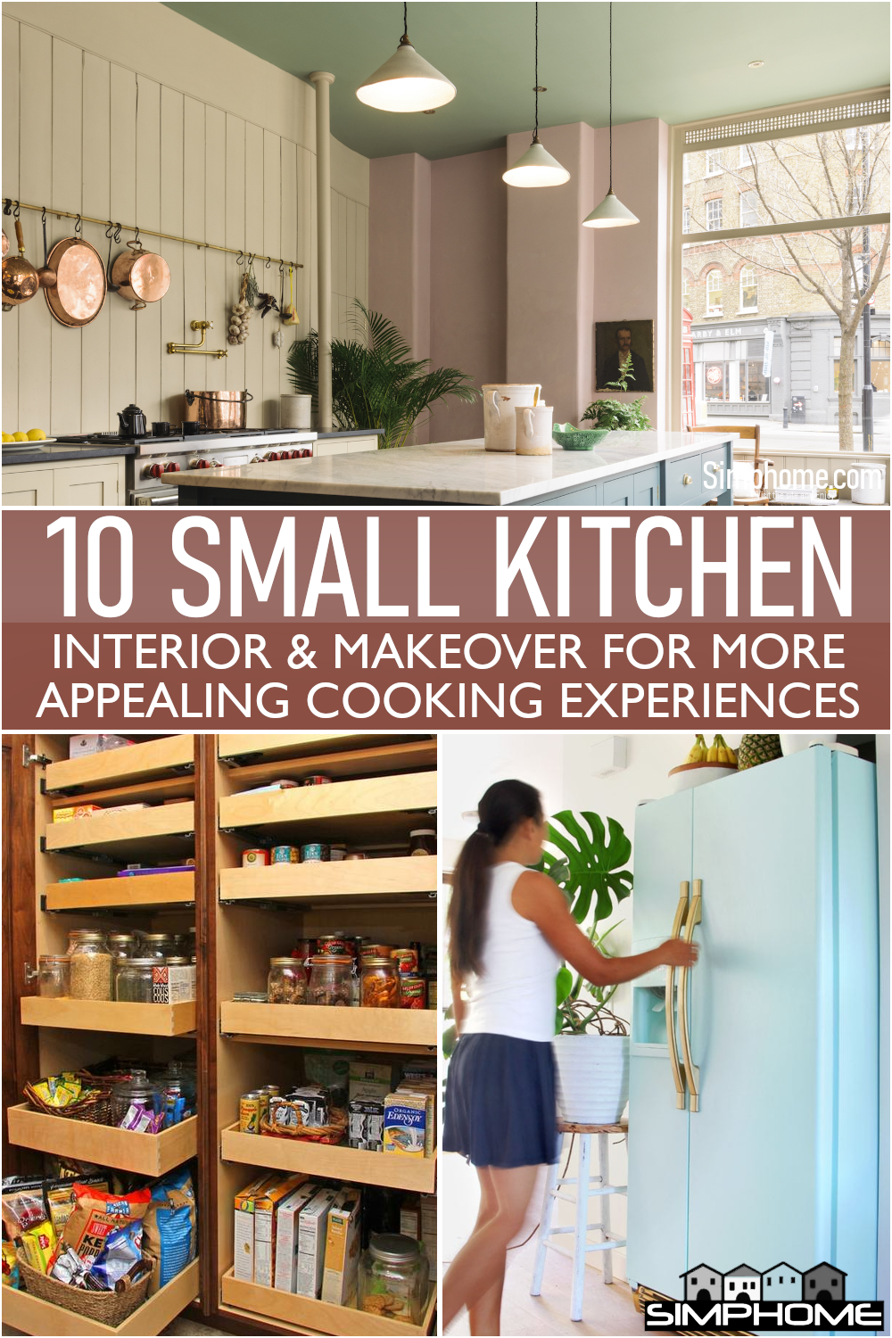 A beautiful 10 Small Kitchen Interior Projects