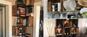 Awesome 10 Inspiring Crate DIY Shelving Projects