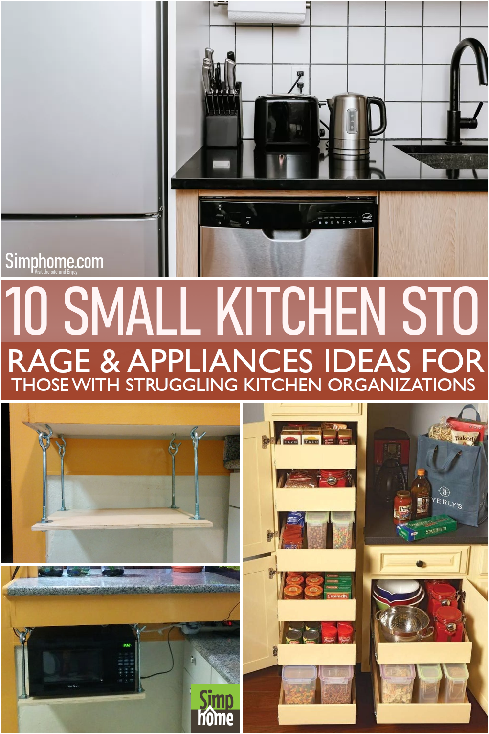 The 10 Small Kitchen Appliances Storage by Simphome