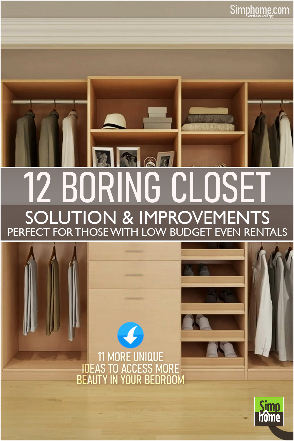 12 Ideas How to Deal with Boring Closet Ideas