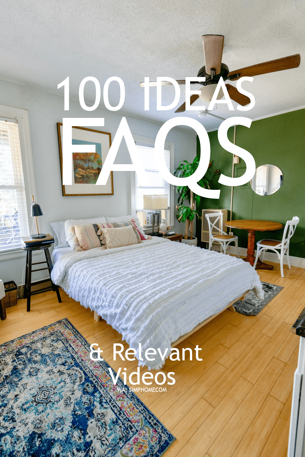 This is 100 Bedroom Ideas for small area include with FAQs and videos